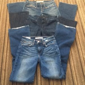 Joe's Jeans Bundle of 3 Pairs of Jeans, Sz 24